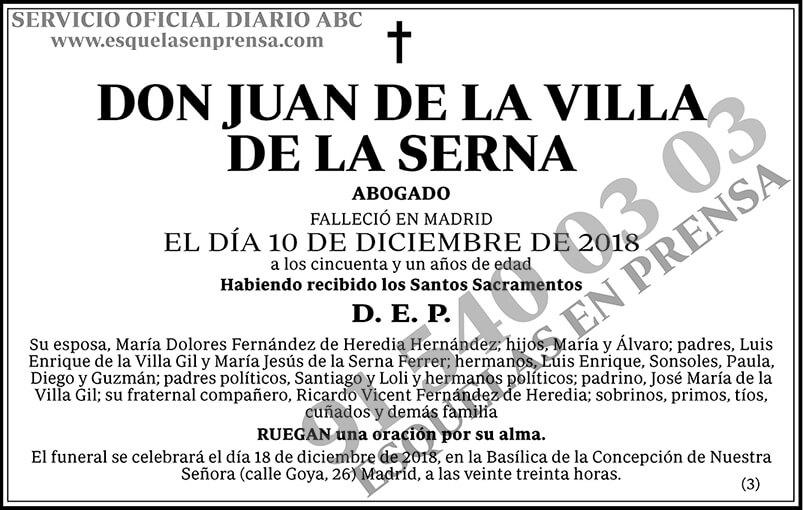 Juan de la Villa de la Serna
